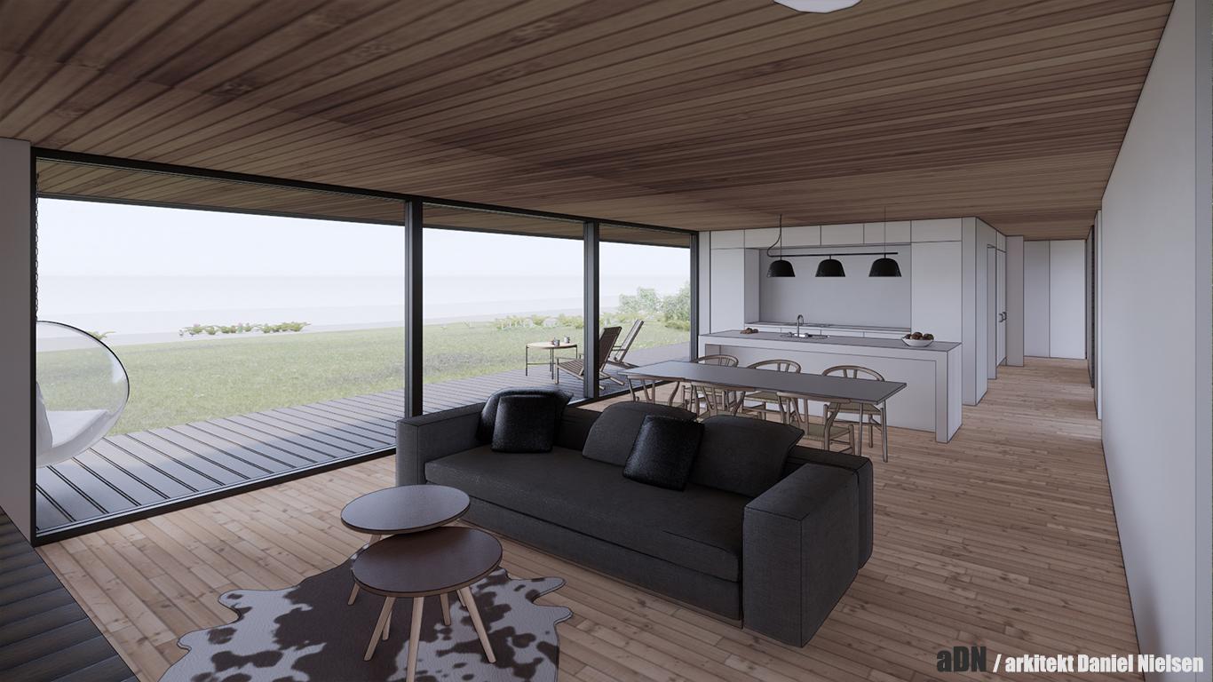 arkitekttegnet_daniel_nielsen_sommerhus_skitseforslag_træhus_indretning_01