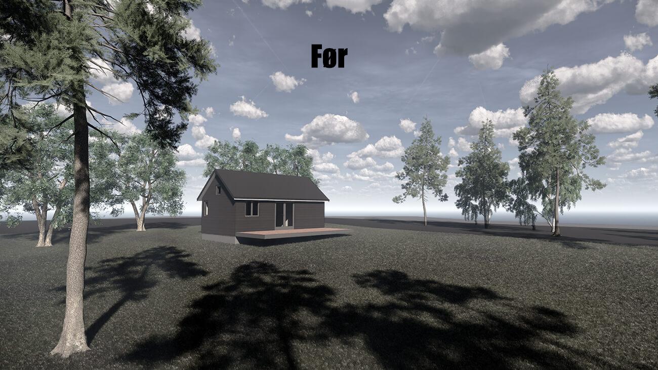 061_foer_tilbygning_sommerhus_veddinge bakker_arkitekttegnet_daniel_nielsen