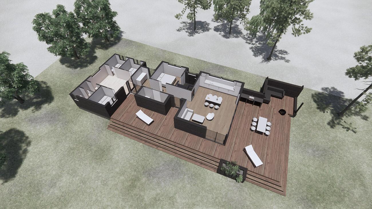 061_skitseforslag_3D_plan_tilbygning_sommerhus_veddinge bakker_arkitekttegnet_daniel_nielsen