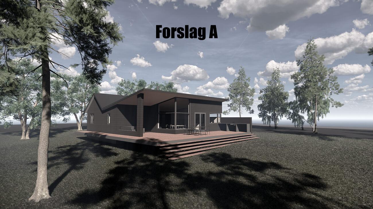 061_skitseforslag_A_tilbygning_sommerhus_veddinge bakker_arkitekttegnet_daniel_nielsen