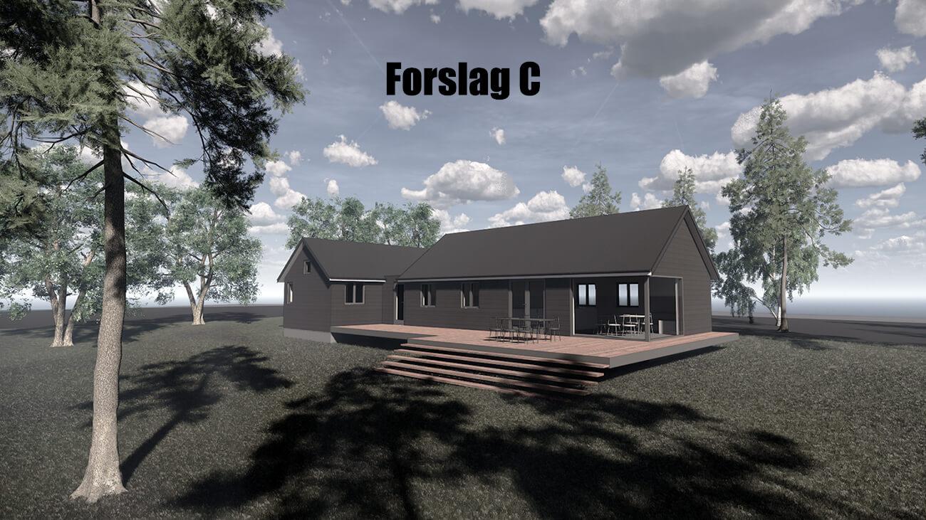 061_skitseforslag_C_tilbygning_sommerhus_veddinge bakker_arkitekttegnet_daniel_nielsen